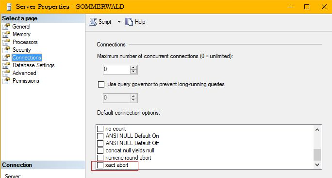 Error and Transaction Handling in SQL Server Part Two
